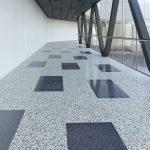 Revêtement de plancher en terrazzo